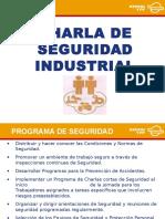 Charla de Seguridad Industrial