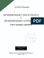 Modernismo Teológico y Modernismo Literatio -Juan Cózar Castañar