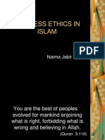 Nyma's Business Ethics in Islam