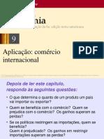 9 - Aplicação - O Comércio Internacional