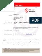 Certificate of Compliance UL83[1]