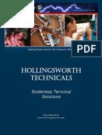 Hollingsworth Technicals Solderless Terminal Solutions Catalog