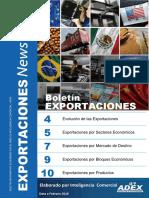 Boletín de Exportaciones Feb 2016. (1)