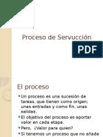 Proceso de Servucción y todas sus etapas