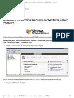 Instalação Do Terminal Services No Windows Server 2008 R2 _ Blog Do Cabreira