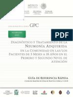Neumonia Ninos Rr Cenetec