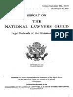 81st Congress Nat. Lawyers Guild