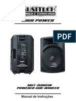 Manual de Intrucoes MST1500SW