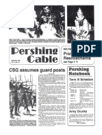The Pershing Cable (Dec 1982)