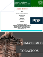 TRAUMATISMOS TORACICOS Daianna