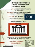 Educacion Superior Perpectiva Internacional