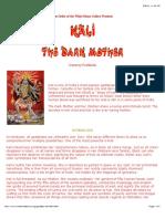 Kali - The Dark Mother