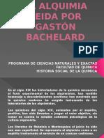 La Alquimia Leida Por Gastón Bachelard