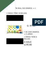Azucar Caña Real 500 Gramos q. 97.50