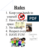 kin425- rules-consequences signs