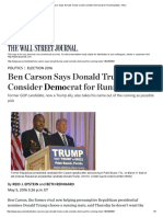 Original version of WSJ report