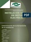 Instalación de Un Motor Eléctrico