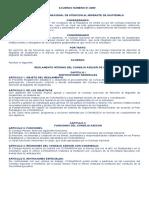 Acuerdo 01-2009, Reglamento Interno Del Consejo Asesor de CONAMIGUA