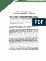 Logos De Lo Humano Experiencia Juridica Y Derecho-
