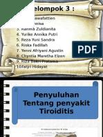 Ppt Sap Tiroiditis