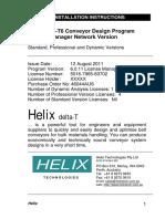 Helix DeltaT6 License Manager Sample Installation Instructions