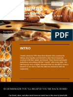 crumbs presentation