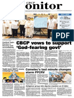 CBCP Monitor Vol. 20 No. 15