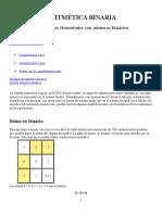 ARITMÉTICA BINARIA.docx