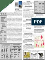 5/8/16 Bulletin