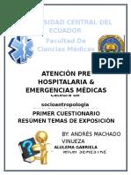 SocioAntropología Exposiciones Resumenes