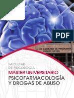 MÁSTER UNIVERSITARIO PSICOFARMACOLOGÍA Y DROGAS DE ABUSO
