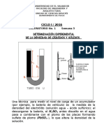 Laboratorio de mecánica de fluidos