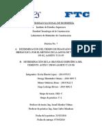 Materiales de Construcción. Informe 7