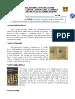 CLASE 1 - 8° BASICO - UNIDAD 1 - LA CONCEPCION DEL HOMBRE MODERNO (GUIA N° 2)