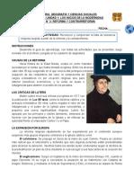CLASE 07 - UNIDAD 1 - REFORMA Y CONTRARREFORMA (GUIA N° 3)