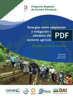 Vallejo Et Al 2016 Sinergias Entre Adaptación y Mitigación Del Cambio Climático