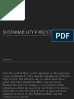 sustainability powerpoint