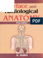 Surface & Radiological Anatomy (3rd Ed)(Gnv64)