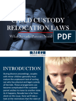 Child Custody Relocation Laws - What Nevada Parents Need To Know
