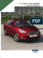 2015 Ford Figo & Figo Aspire_User Manual