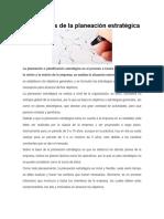 Los 7 Pasos de La Planeación Estratégica