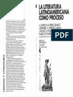 Ana Pizarro La Literatura Latinoamericana Como Proceso