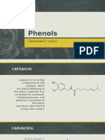 Phenols -- Application