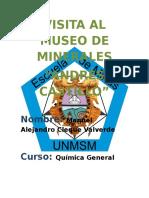 Visita Al Museo de Minerales