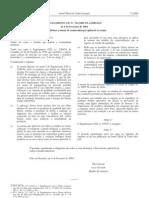 Hortofruticolas - Legislacao Europeia - 2004/02 - Reg nº 214 - QUALI.PT