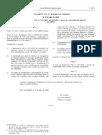 Hortofruticolas - Legislacao Europeia - 2006/07 - Reg nº 1016 - QUALI.PT