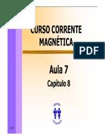 Curso Corrente Magnetica - Aula 07 - Cap 08 (4p)