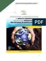 Metodología de Elaboración de Estudios de Impacto Ambiental Para Proyectos Productivos