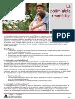 Polymyalgia Rheumatica Spanish