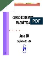 Curso Corrente Magnetica - Aula 10 - Cap 13 e 14 (5p).pdf